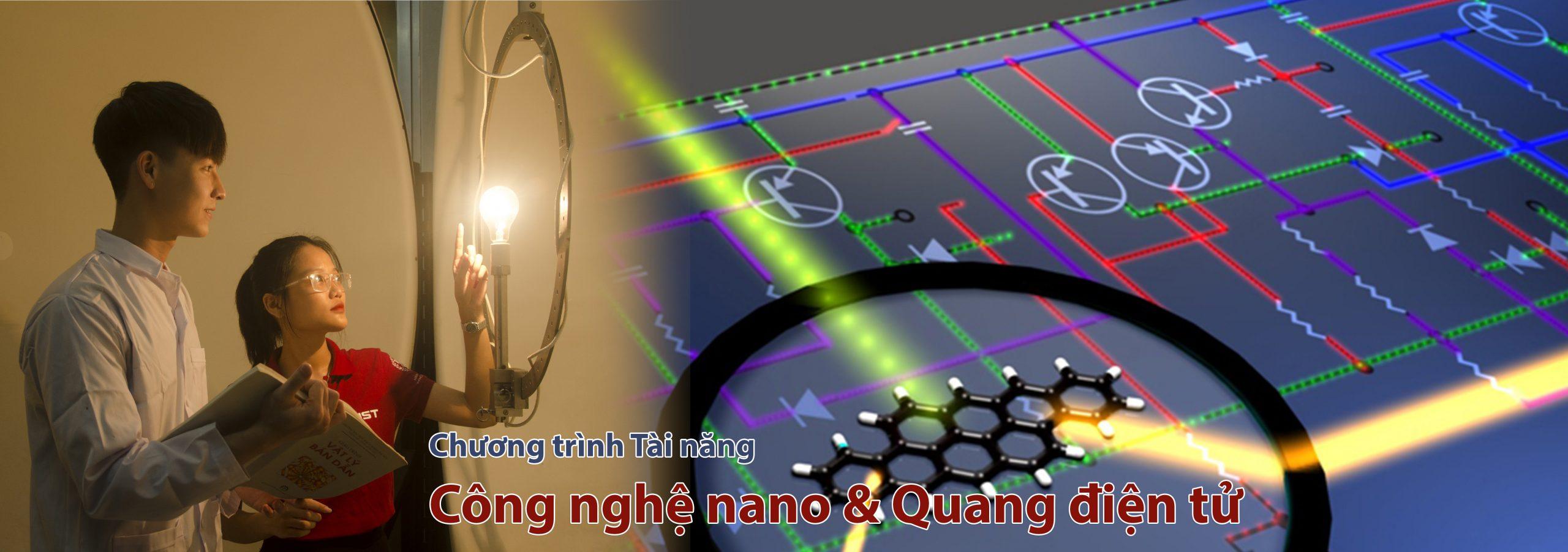 Chương trình ELITECH Công nghệ nano và Quang điện tử